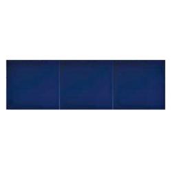 Azulejo Sevillano GRANADA carreau bleu marine 15x20 cm LISO COLLECTION ZOCALO - 0.9m²