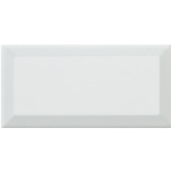Carreau métro Blanc brillant 7,5x15 cm - 1 m²