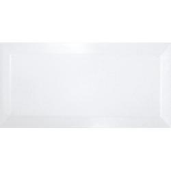 Carreau métro Blanc mate 7.5x15 cm - 1 m²