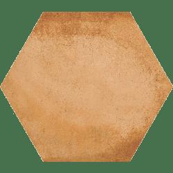 Carrelage hexagonal tomette décor 23x26.6cm BAMPTON Natural - 0.50m² Vives Azulejos y Gres
