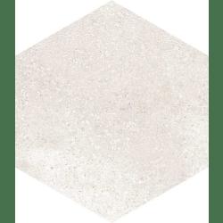 Carrelage hexagonal tomette crème vieillie 23x26.6cm RIFT Crema - 0.504m²