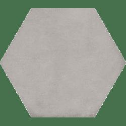 Carrelage hexagonal tomette décor 23x26.6cm BAMPTON Gris - 0.50m²
