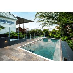 Carrelage pour abords de piscine effet pierre naturelle SAHARA MIX 30x60 cm antidérapant R11 - 1.26 m²