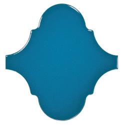Carreau bleu électrique 12x12cm SCALE ALHAMBRA ELECTRIC BLUE - 0.43m²