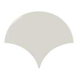 Carreau menthe brillant 10.6x12cm SCALE FAN MINT - 0.37m²