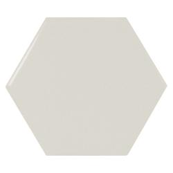 Carreau menthe brillant 12.4x10.7cm SCALE HEXAGON MINT - 0.61m²