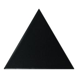 Carreau noir mat 10.8x12.4cm SCALE TRIANGOLO BLACK MATT - 0.20m² Equipe