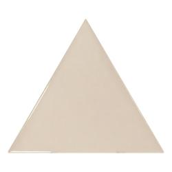 Carreau beige brillant 10.8x12.4cm SCALE TRIANGOLO GREIGE - 0.20m²