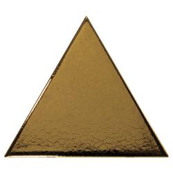 Carreau or métallisé 10.8x12.4cm SCALE TRIANGOLO METALLIC - 0.20m²