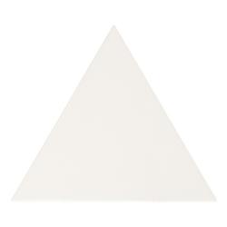 Carreau blanc mat 10.8x12.4cm SCALE TRIANGOLO WHITE MATT 23811 - 0.20m²
