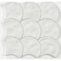 Carreau écaille blanc cassé 30x30 SCALE WHITE - 0.85m²