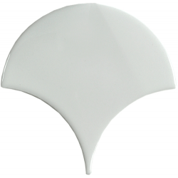 Carreau écaille blanc riz 12.7x6.2 SQUAMA RICE - 0.377m²