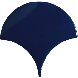 Carreau écaille bleu marine nuancé 12.7x6.2 SQUAMA TURCHESE - 0.377m²