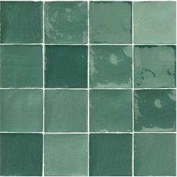 Carrelage effet zellige vert 10x10cm STOW MIX OLIVE - 0.56m²