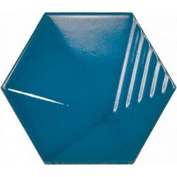Carrelage effet 3D UMBRELLA ELECTRIC BLUE 12.4x10.7 - 23839 - 0.44m²