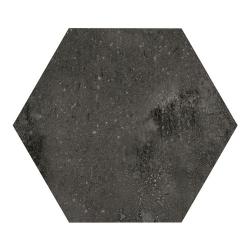 Carrelage hexagonal noir 29.2x25.4cm URBAN HEXAGON DARK 23515 R9 - 1m²