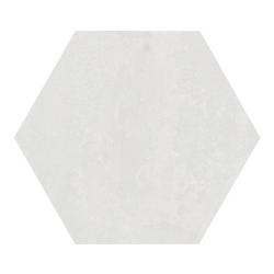 Carrelage hexagonal blanc 29.2x25.4cm URBAN HEXAGON LIGHT 23511 R9 - 1m²
