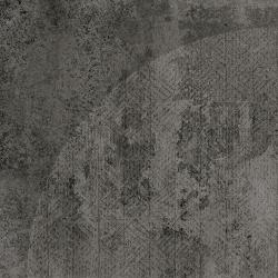 Carrelage imitation ciment décor noir 20x20cm URBAN ARCO DARK 23588 R9 - 1m² Equipe