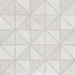 Carrelage imitation ciment décor blanc 20x20cm URBAN HANDMADE LIGHT 23536 R9 - 1m² Equipe