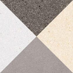 Carrelage style scandinave triangles 20x20 cm CESTIO multicouleur - 1m²