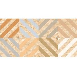 Carrelage rectifié imitation OSB bois aggloméré CORNISH-R Natural Multicolor 59.3X119.3 cm - 1.42 m²