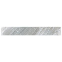 Carrelage moderne gris imitation pierre rectifié 15x120cm (14.3x119.3cm) GREYSTONE-R LEATHER - 1.02m² Vives Azulejos y Gres
