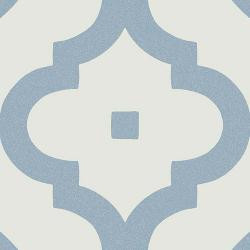 Carrelage scandinave bleu 20x20 cm LADAKHI Cielo - 1m²