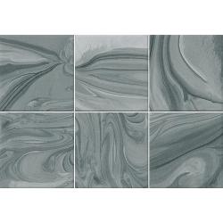 Faïence effet terre mêlée turquoise 23x33.5 cm MANKAI TURQUESA- 1m²