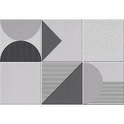 Faïence géométrique grise 23x33.5 cm NAGO MARENGO- 1m² Vives Azulejos y Gres