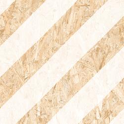Carrelage imitation bois aggloméré NENETS BLANC 59.3X59.3 cm - 1.06 m²