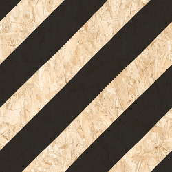 Carrelage imitation bois aggloméré NENETS NOIR 59.3X59.3 cm - 1.06 m²