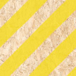 Carrelage imitation bois aggloméré NENETS jaune 59.3X59.3 cm - 1.06 m²