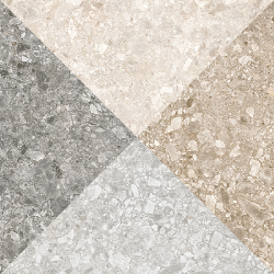 Carrelage imitation ciment 60x60 cm ORIYAS Natural anti-dérapant R09 - 1.08m²