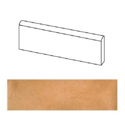 Plinthe beige orangé mat 9.4x60cm LAVERTON NATURAL - 1.20ml