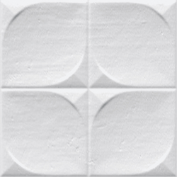 Faience murale brillante blanche SINDHI 13x13cm - 0.676 m² Vives Azulejos y Gres