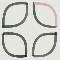 Carrelage style artisanal graphique VANUATU décoré 20x20 - 1m²