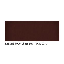 Plinthe intérieur vieillie 1900 9x20 cm CHOCOLAT - 2mL