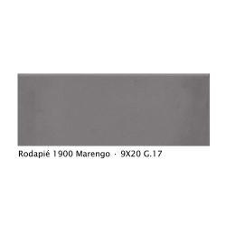Plinthe intérieur vieillie 1900 9x20 cm GRIS MARENGO - 2mL