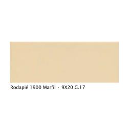 Plinthe intérieur vieillie 1900 9x20 cm JAUNE MARFIL - 2mL