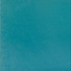 Carrelage uni 31.6x31.6 cm bleu canard TOWN AZAFATA - 1m²