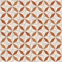 Carrelage imitation ciment géométrique 43x43 - Medix-Pr beige ocre - 0.95m² Vives Azulejos y Gres