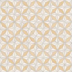 Carrelage imitation ciment géométrique 43x43 - Medix-Pr BLANCO beige - 0.95m² Vives Azulejos y Gres