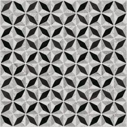 Carrelage imitation ciment géométrique 43x43 - Medix-Pr negro - 0.95m² Vives Azulejos y Gres