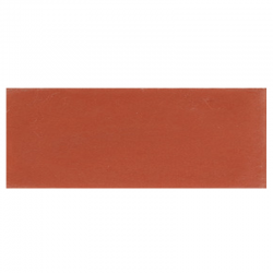 Plinthe de carreau de ciment véritable unie CERISE 10x20 cm - 4mL
