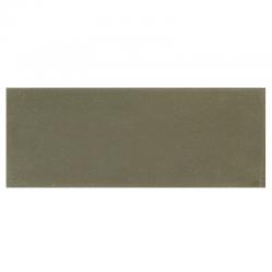 Plinthe de carreau de ciment véritable unie CHANVRE 10x20 cm - 4mL