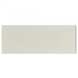 Plinthe de carreau de ciment véritable unie PIERRE 10x20 cm - 4mL
