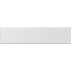 Faience nuancée mate moderne blanche MATELIER ALPINE WHITE - 26485 - 7.5x30 cm - 1m²