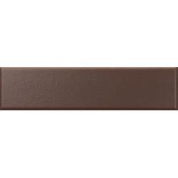 Faïence nuancée mate moderne marron MATELIER WADI BROWN - 26488 - 7.5x30 cm - 1m²