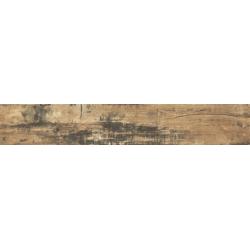 Carrelage imitation parquet rectifié style vintage ELBRUS 20x120 cm - 0.96m²