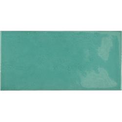 Faience effet zellige bleu turquoise 6.5x13.2 VILLAGE TEAL 25573 - 0.5 m²